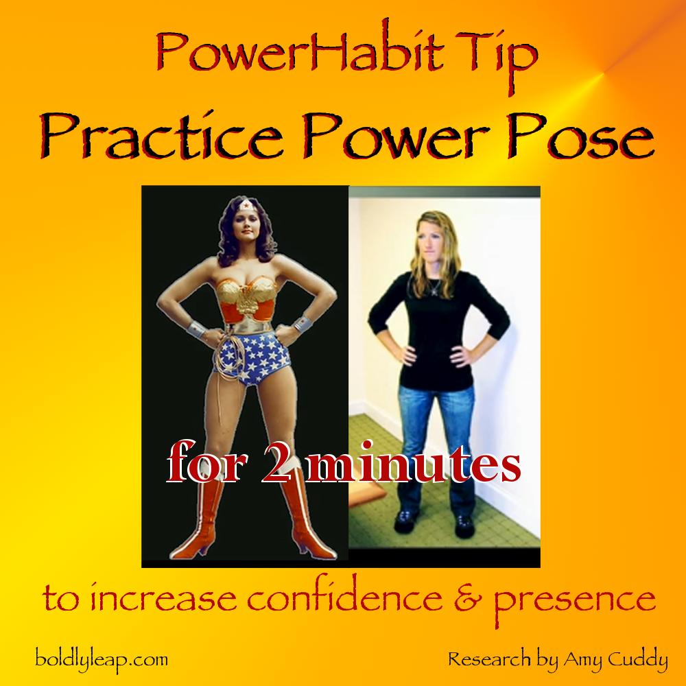 PowerHabit Tip — Power Pose