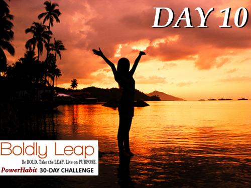 Power Habit 30-Day Challenge — Day 10